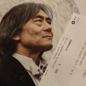 Kent Nagano et billet de concert