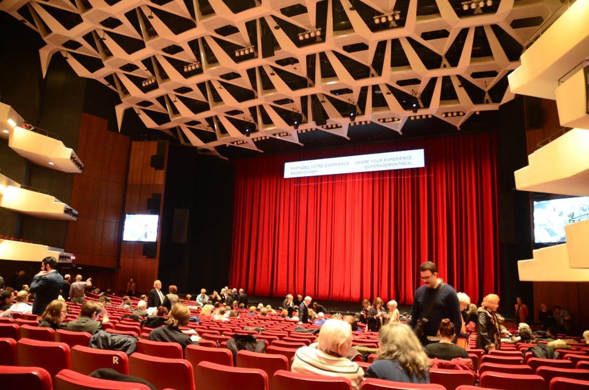 Opéra de Montréal - Salle Wilfrid-Pelletier